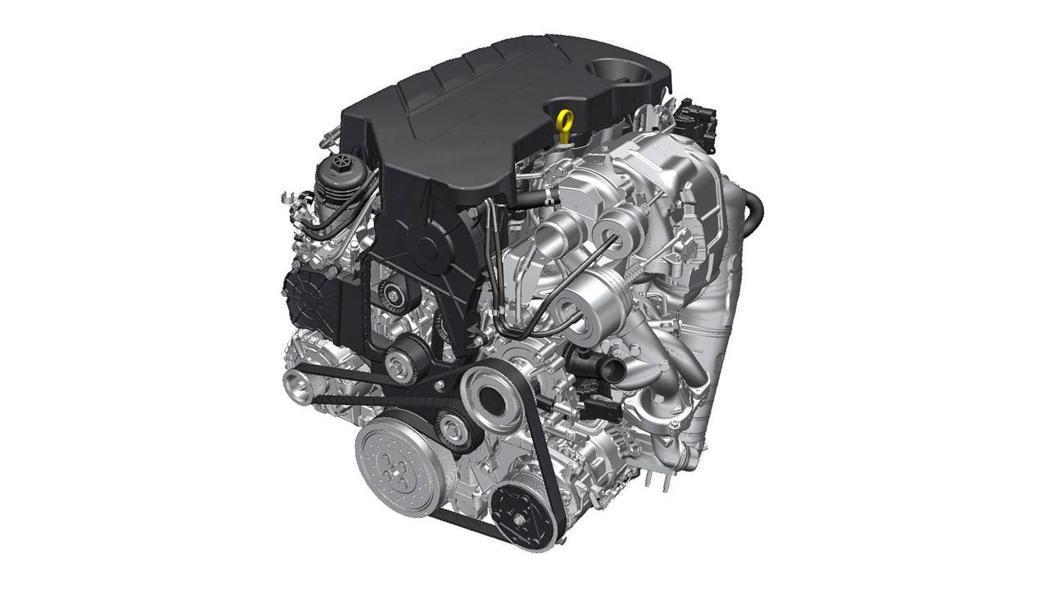 近日追加的2.0升BiTurbo柴油渦輪引擎,擁有210hp最大馬力,性能數據出...