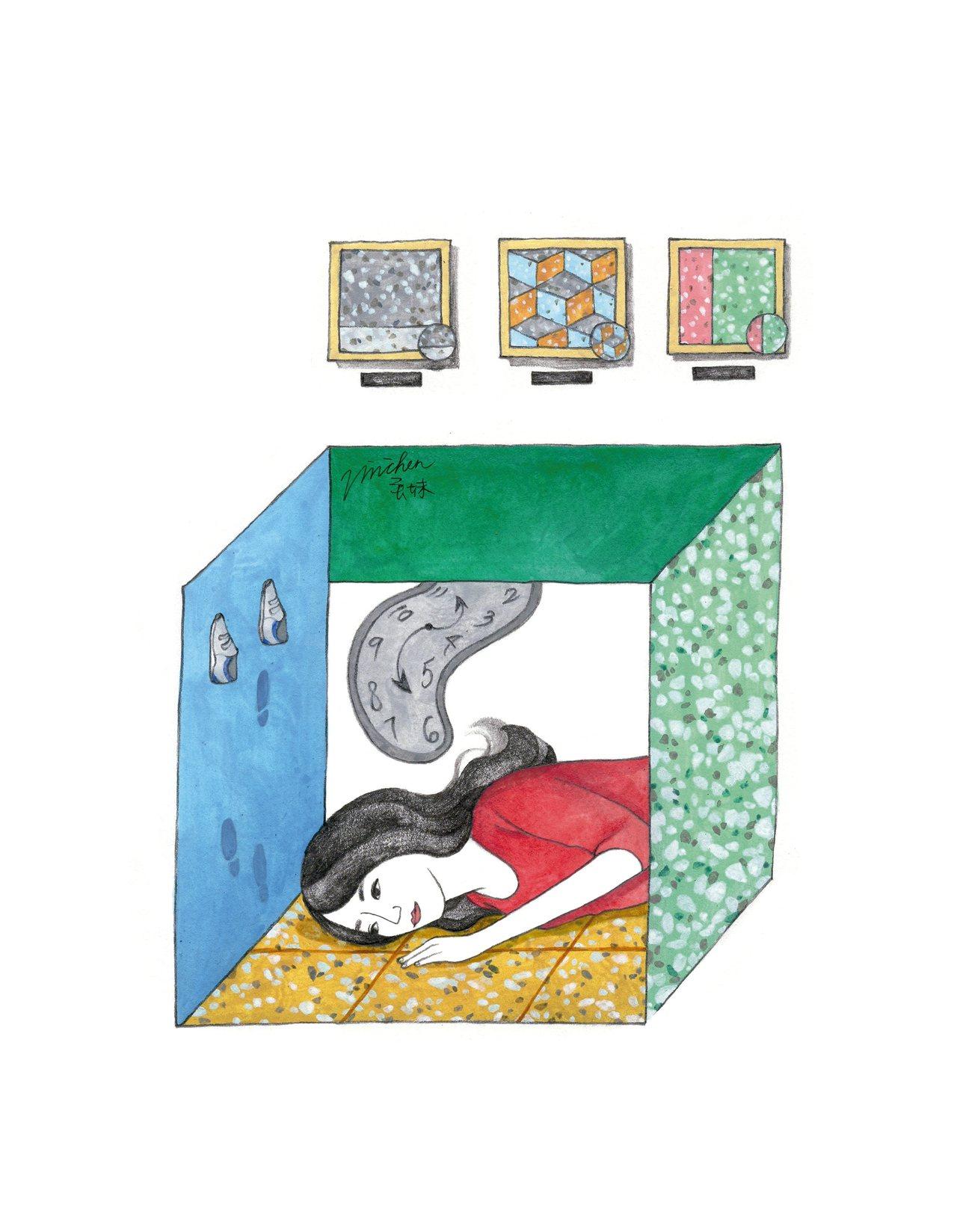 獲悉迪化街二○七博物館有磨石子藝術展,我迫不及待地前往參觀,只因老家的地板就是以...