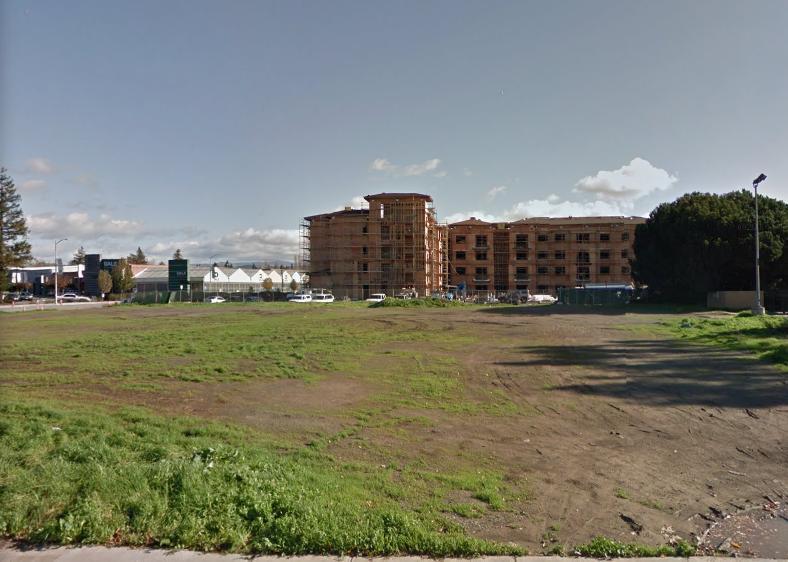 圖為佛利蒙3900 Thornton Ave.地塊。(Google街景)