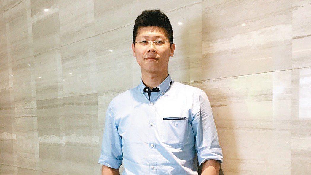 宏碁前瞻技術總處價值創新中心研發副理楊宗翰。 記者馬瑞璿/攝影