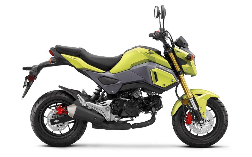 最大獎是一輛預接單價12萬5,000元的Honda MSX125。圖/Honda Motorcycle Taiwan提供