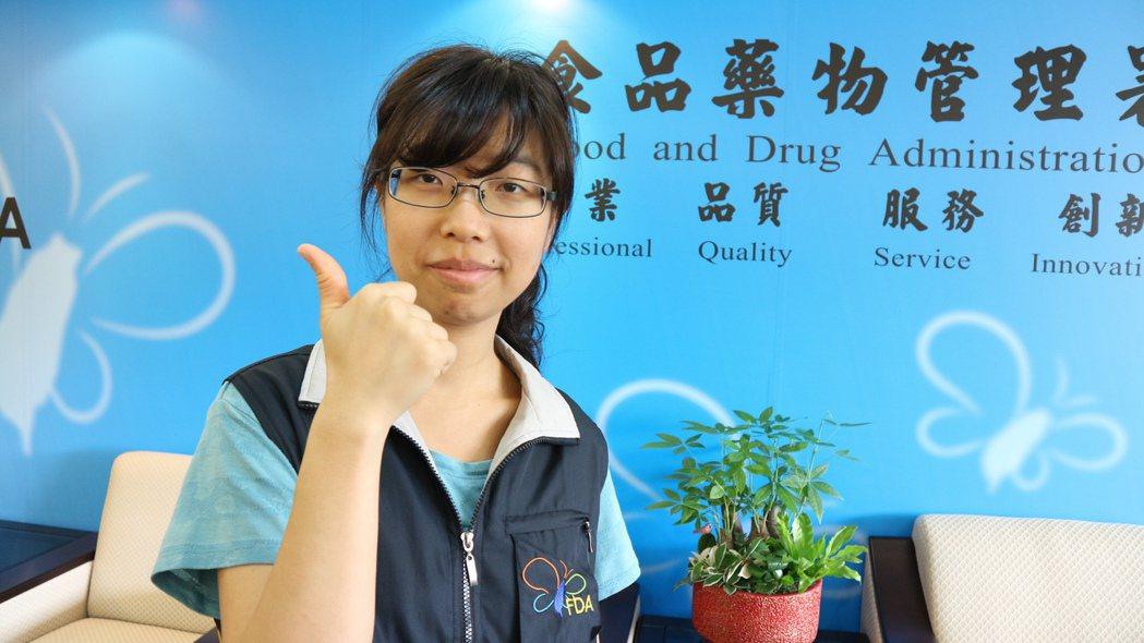 陳妍寧說與業者鬥法是她入行以來最印象深刻的事。 記者陳雨鑫/攝影