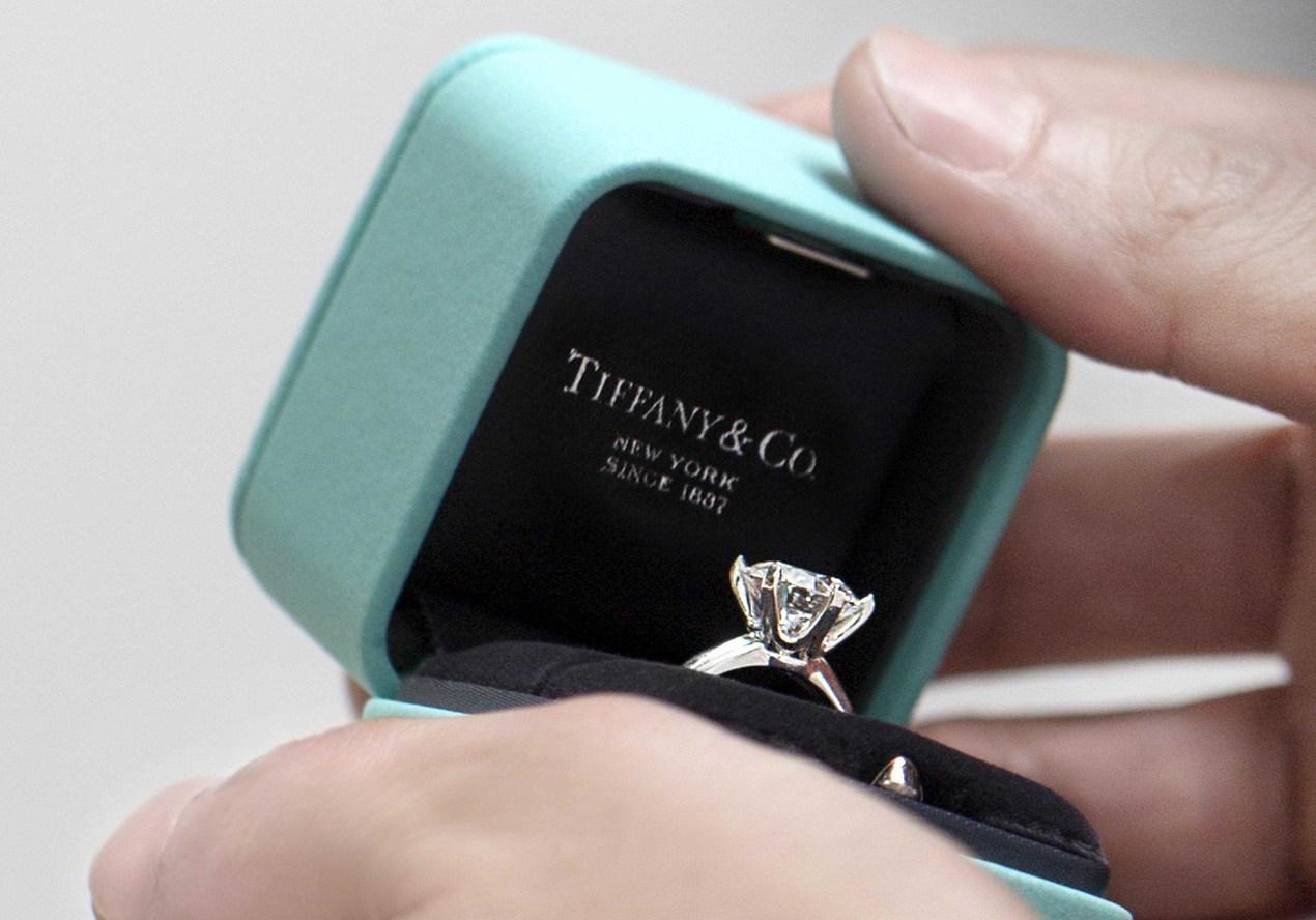 婚戒是許多人的第一顆鑽石,也是唯一一顆。  圖/Tiffany 提供