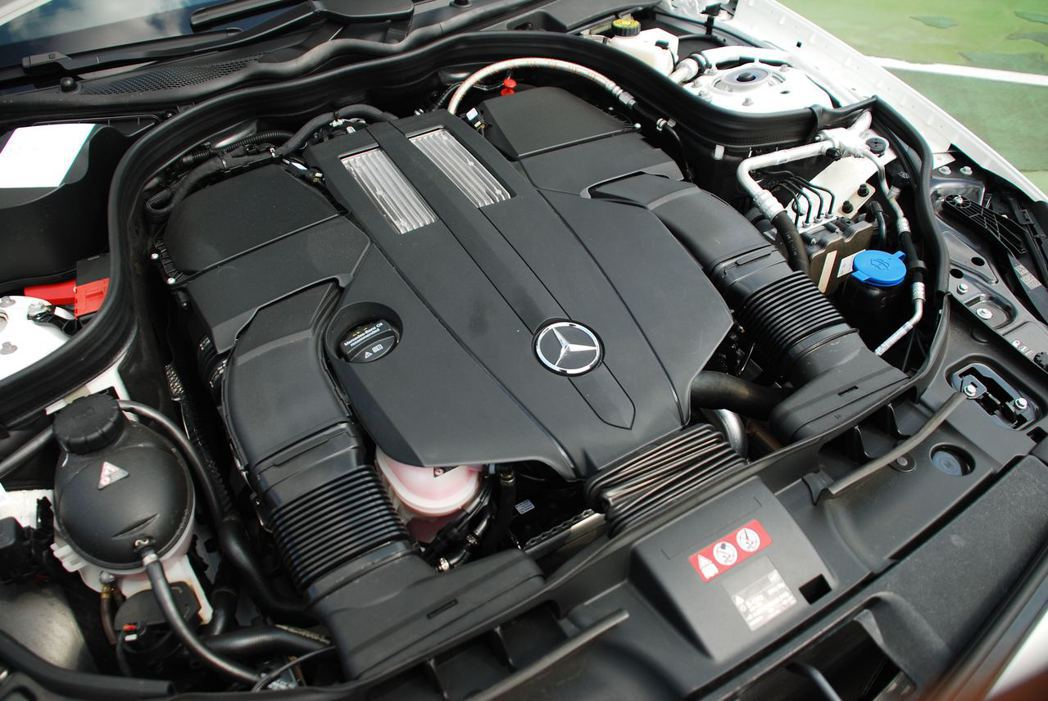 3.0升 V6雙渦輪增壓引擎。記者林昱丞/攝影
