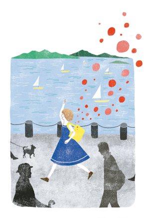 遊艇白帆點點綴滿奧斯陸夏天的港灣,我快步穿梭遊客如織的街道,老遠就瞥見在港邊咖啡...