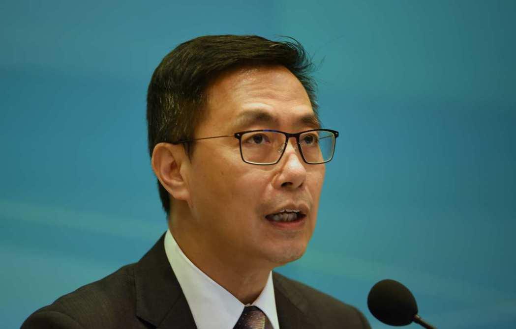 香港教育局局長楊潤雄。中通社