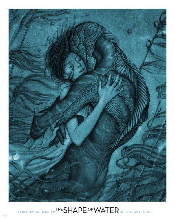 科幻愛情片「水形奇緣」(The Shape of Water)勇奪威尼斯影展最佳