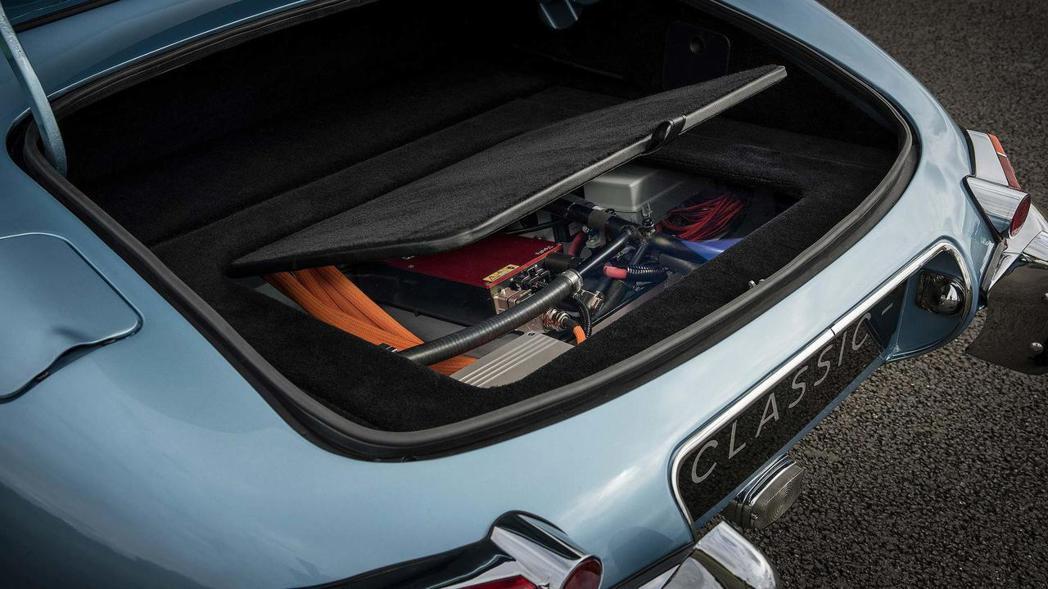 40kWh的鋰電池組。 摘自Jaguar