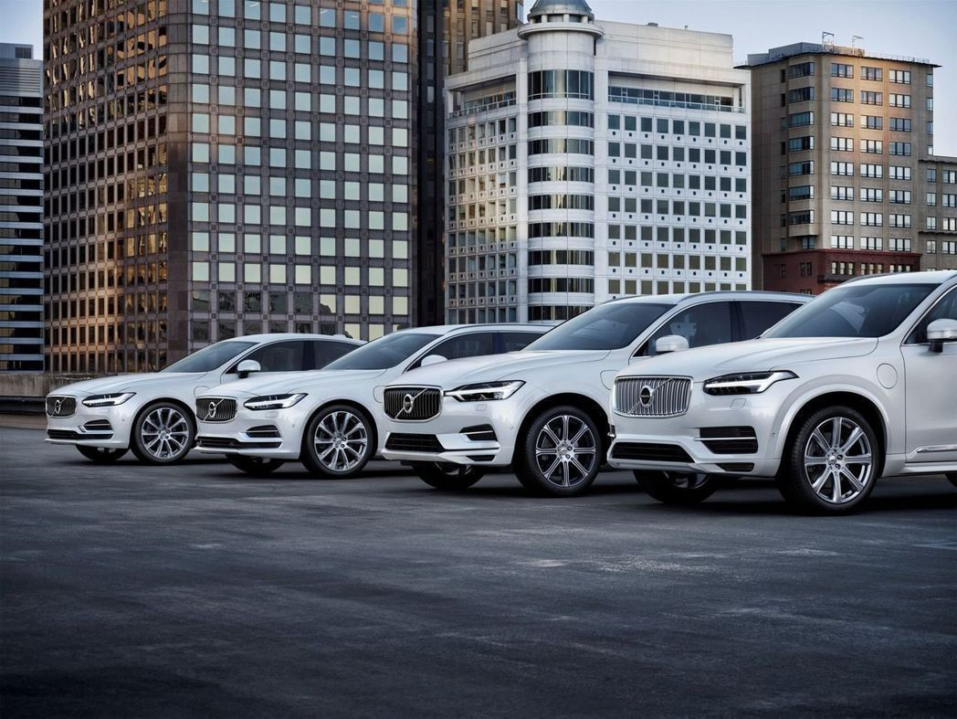 Volvo宣布2019年後的全車系將改為電動化。 摘自Volvo