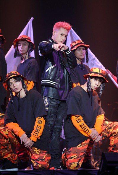 周湯豪舉辦「帥到分手」演唱會,與歌迷同樂。記者陳瑞源/攝影