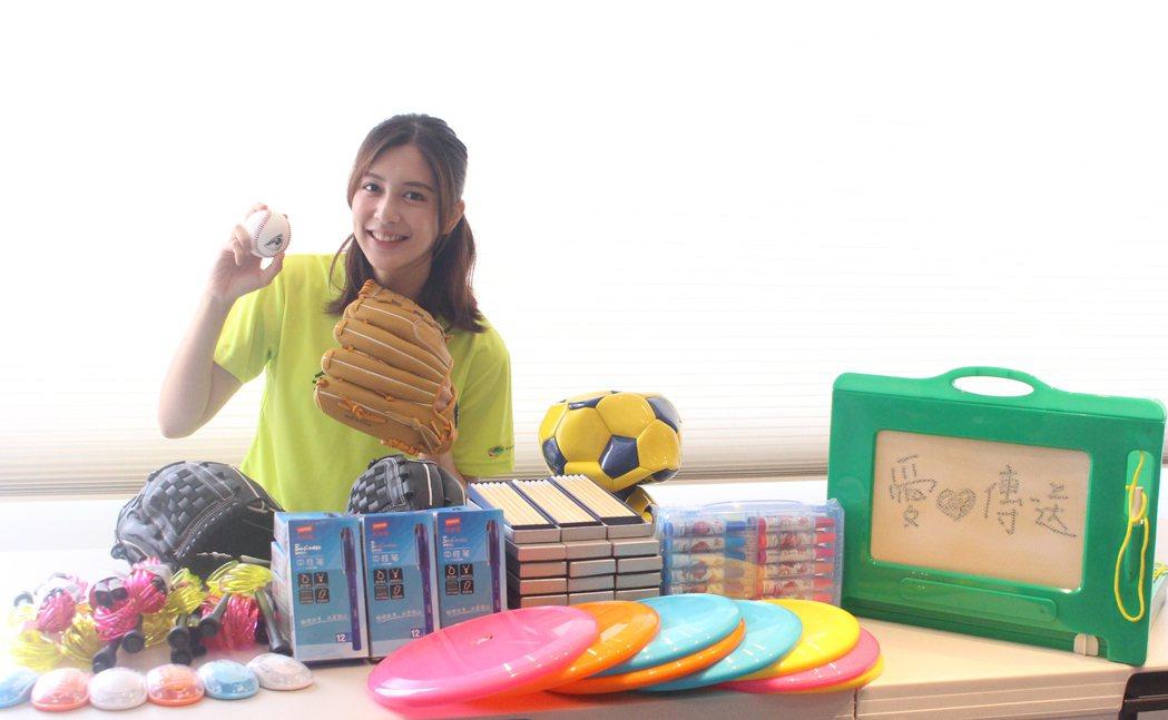 女星劉奕兒是家扶基金會國外認養30週年代言人。圖/家扶基金會提供