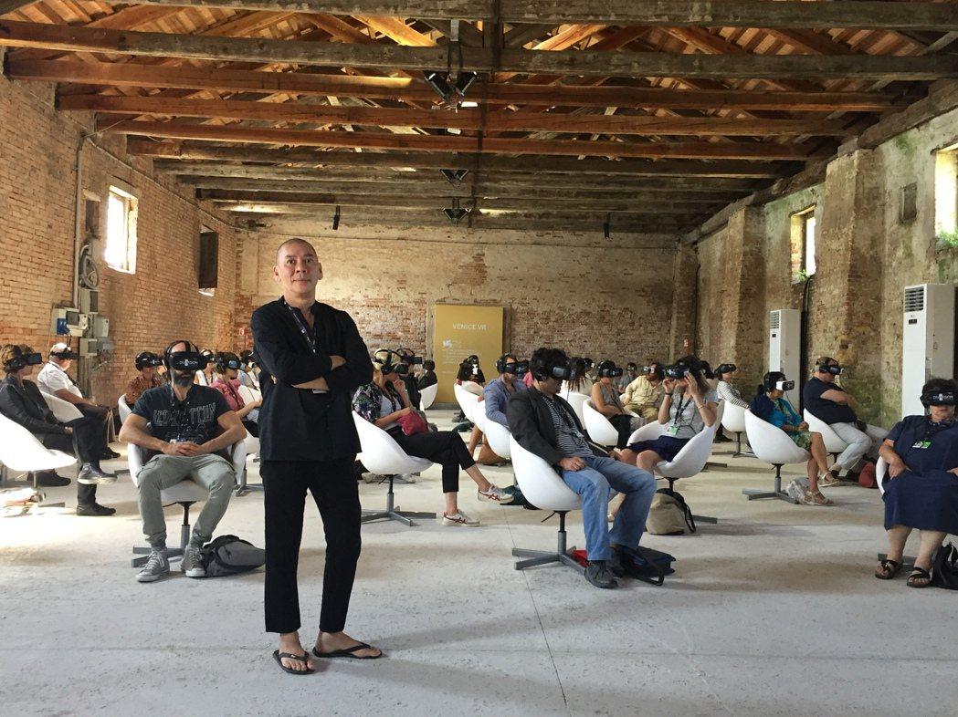 蔡明亮新片「家在蘭若寺」在威尼斯影展開出大好評。圖/HTC提供