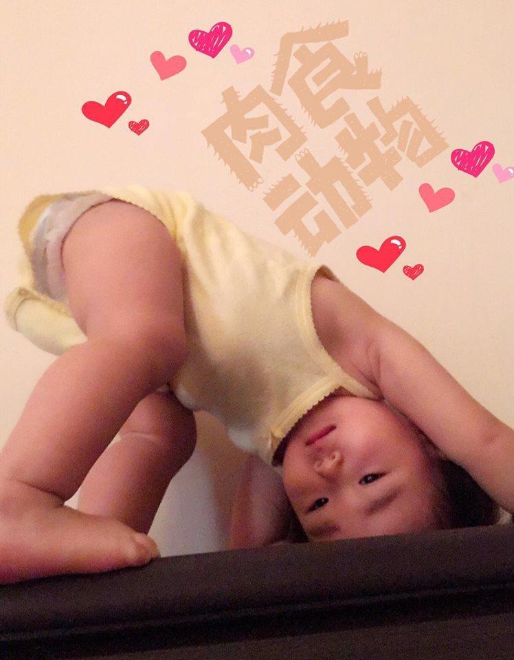 黃雨欣虧女兒是「肉食動物」。圖/摘自臉書