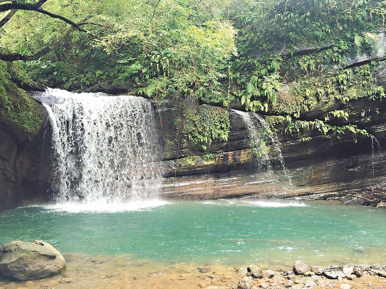 圖為望古瀑布。 圖/新北市觀旅局提供