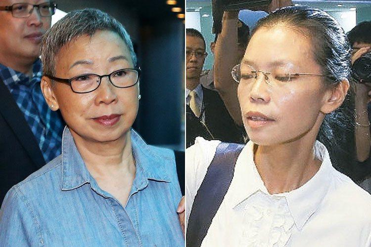 李明哲的母親郭秀秦(左圖)、妻子李凈瑜(右圖)。 圖/聯合報系資料照片
