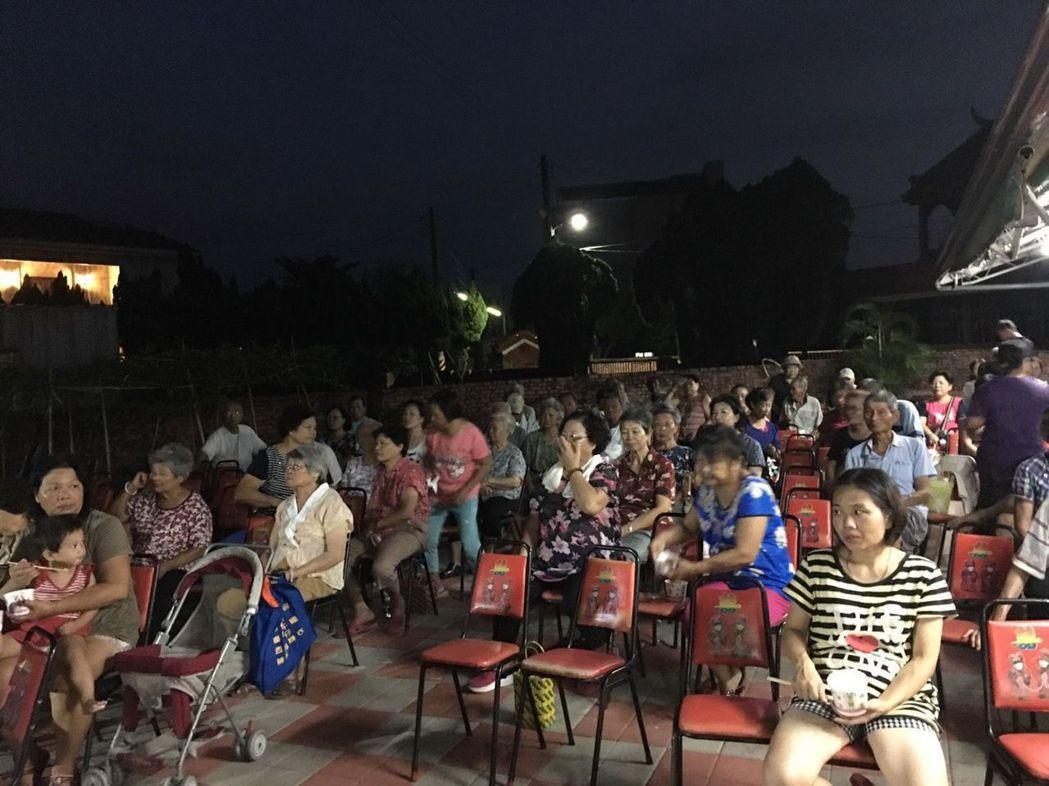 重溫舊夢金紫戲院活動廣受民眾好評。 南臺科大/提供