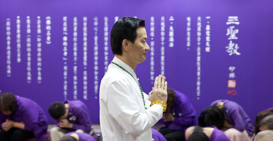 妙禪師父。圖擷自佛教如來宗官網