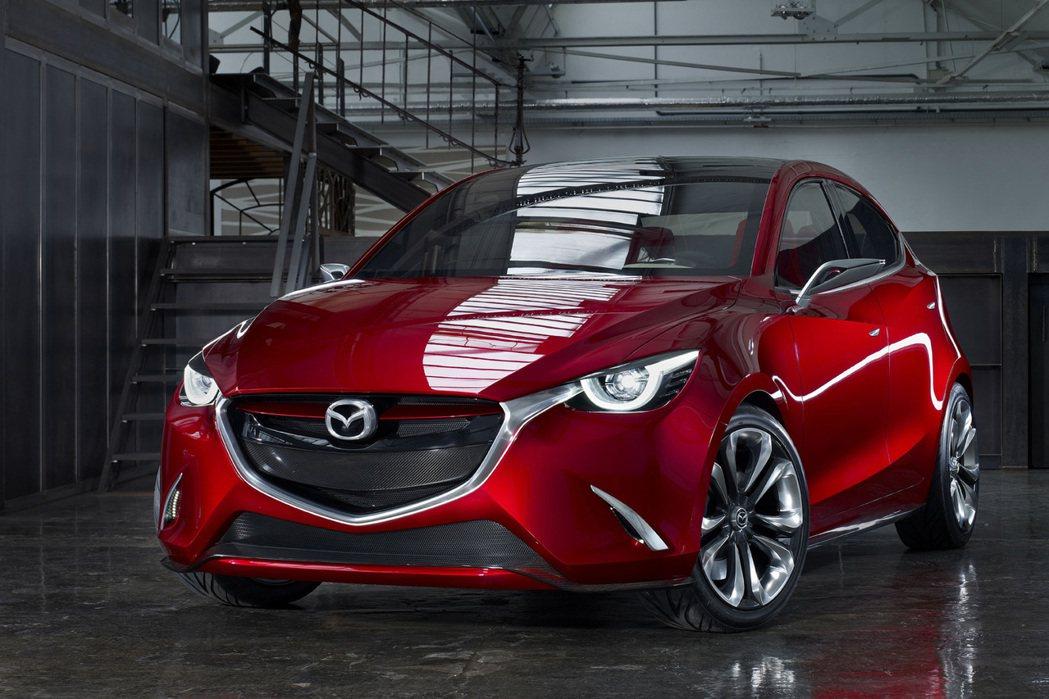 圖為 Mazda Hazumi Concept 概念車。 摘自 Mazda