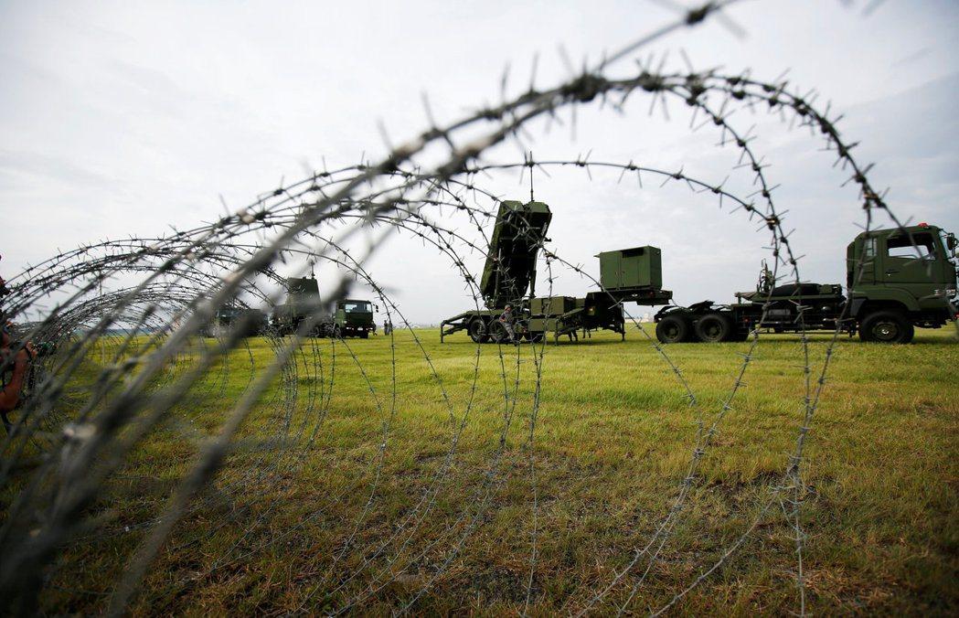 在一定的條件下,日本自衛隊可對威脅日本本土的飛彈進行攔截。 圖/路透社