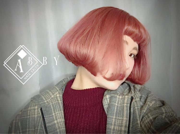 髮型創作/李奇髮廊 - Abby。圖/HairMap美髮地圖提供