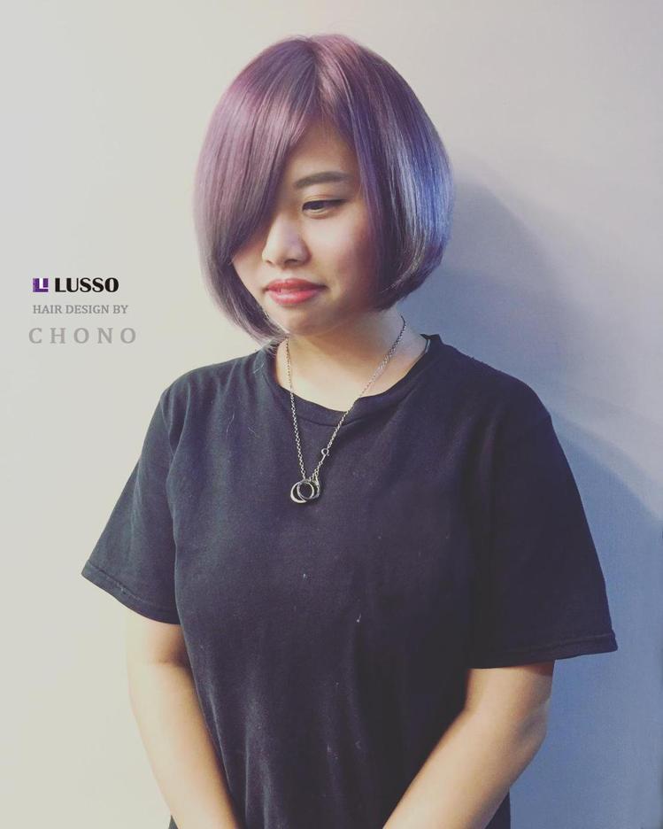 髮型創作/Lusso 中山店 - Lusso Cho No。圖/HairMap美...