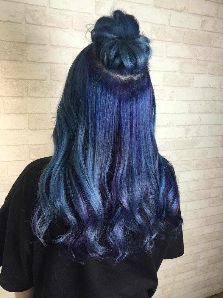 髮型創作/髮型設計師Tim。圖/HairMap美髮地圖提供