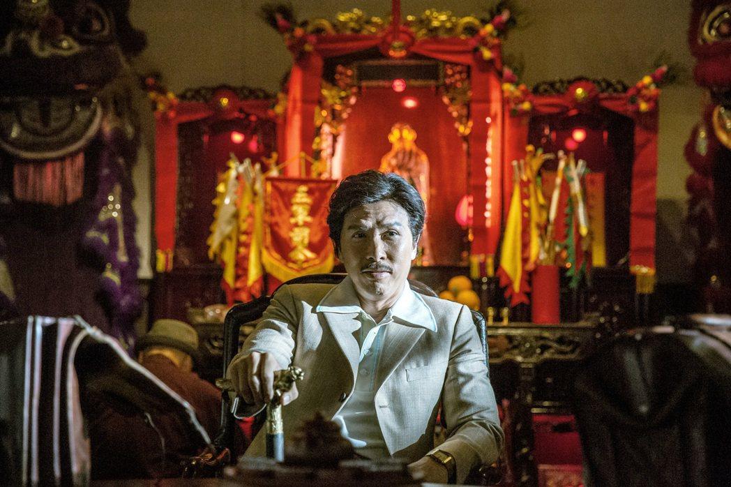 甄子丹在「追龍」中扮演跛豪。圖/華映提供