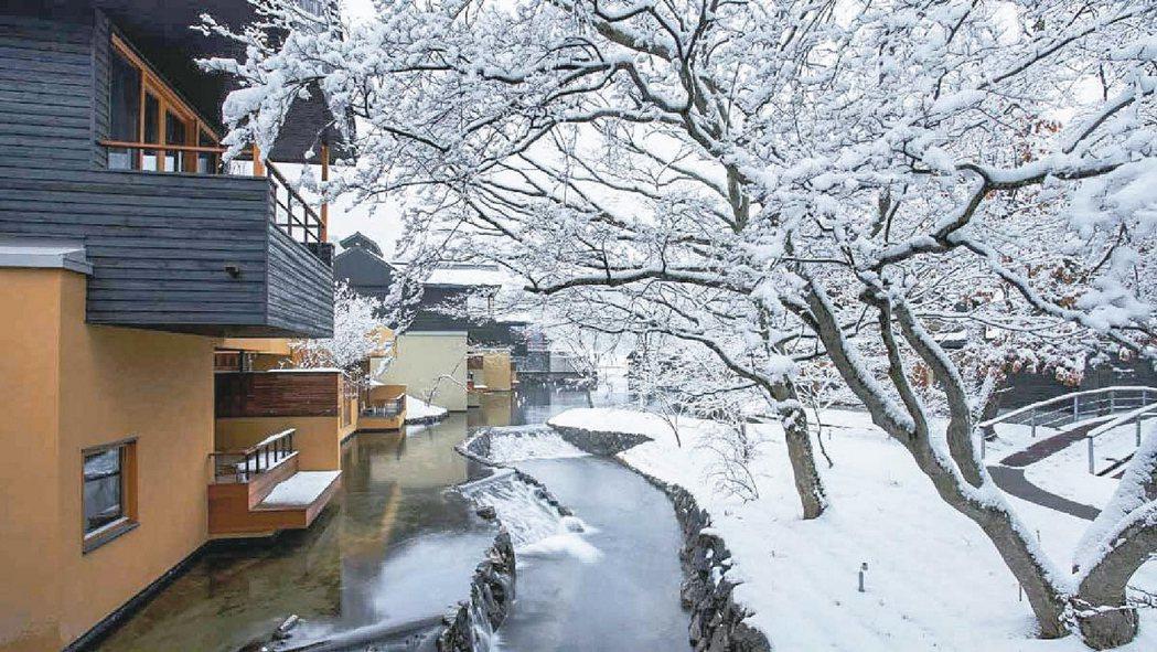 輕井澤位於東京近郊,搭新幹線只需一小時,冬天可欣賞純白美麗雪景。 圖/翻攝自輕井...