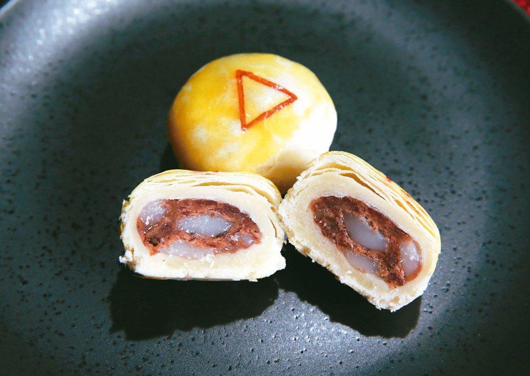紅豆麻糬一口酥。 記者徐兆玄/攝影