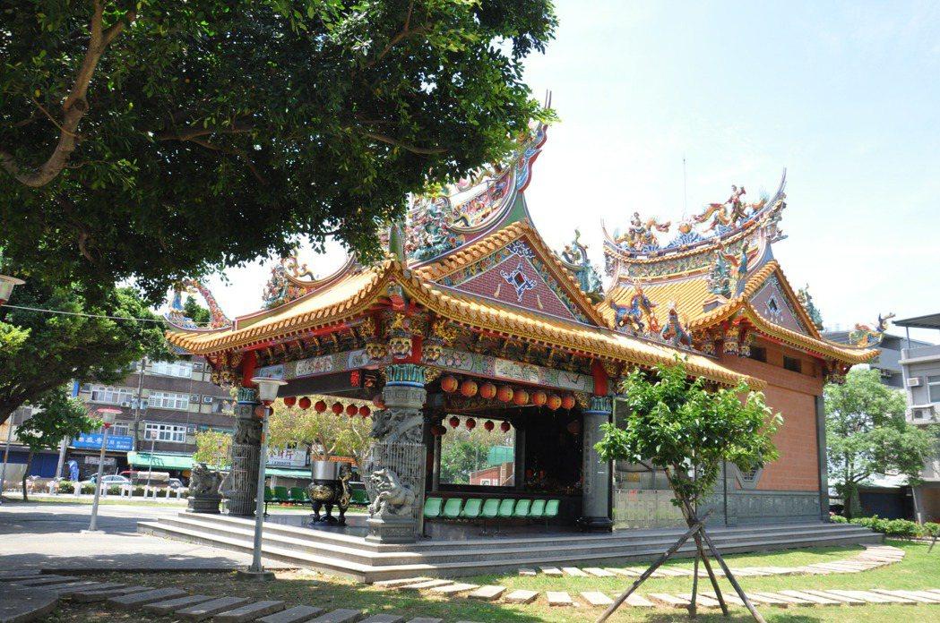 桃園土地公廟密度高,是地方重要信仰中心。 記者張裕珍/攝影