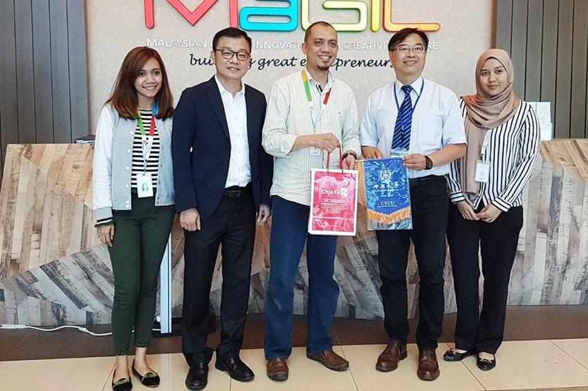 中原大學首度帶領海外見習團隊至馬來西亞,拜訪馬來西亞全球創新和創意中心MaGIC...