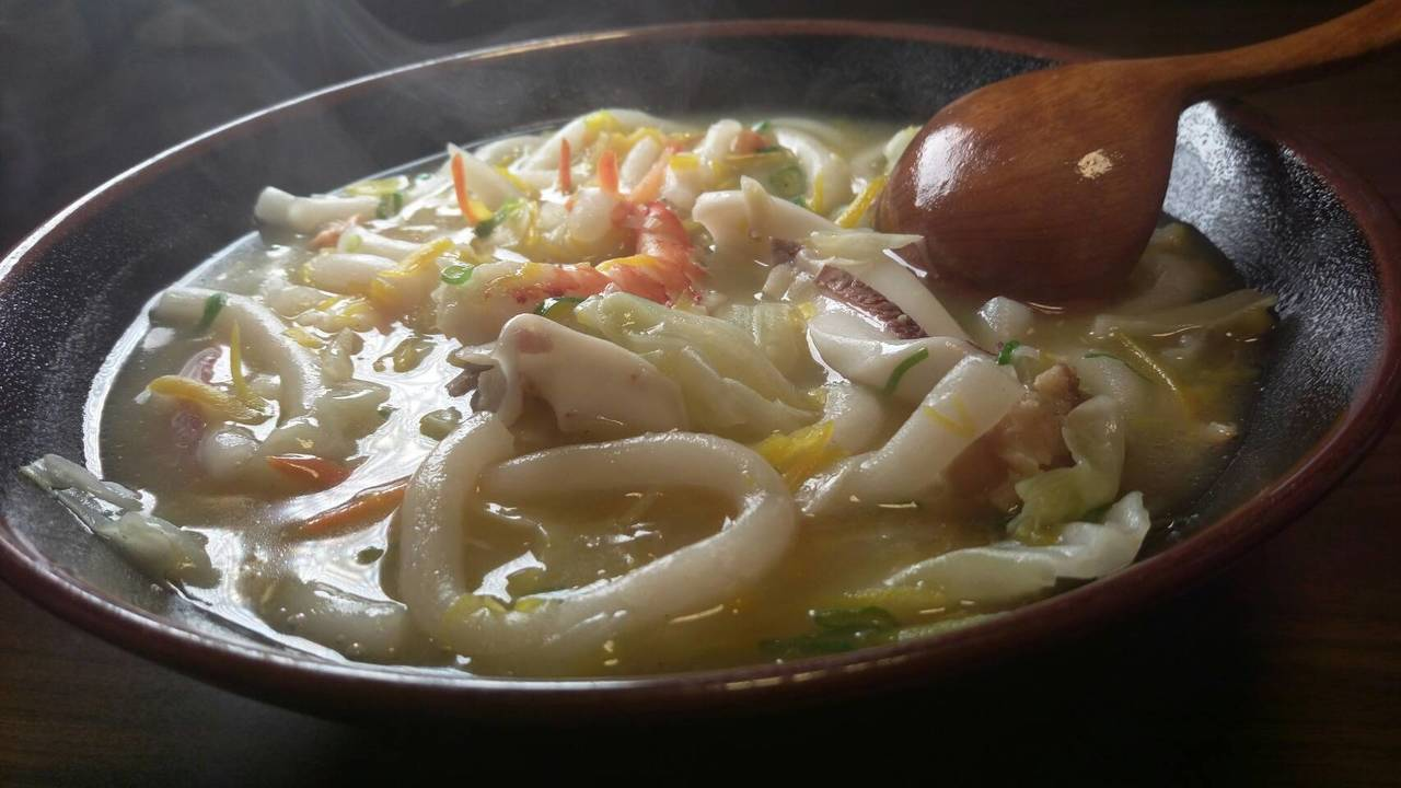 米苔目以海鮮為基底