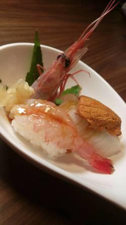 握壽司新鮮無比