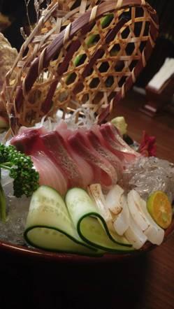 澎湃的生魚片
