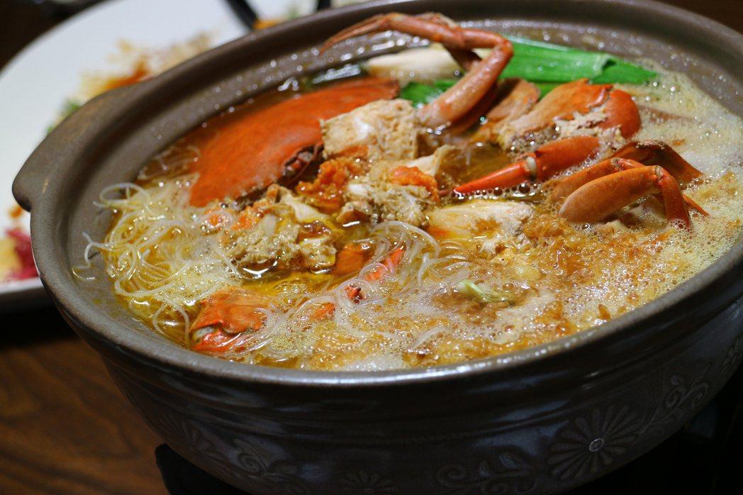 螃蟹米粉鍋