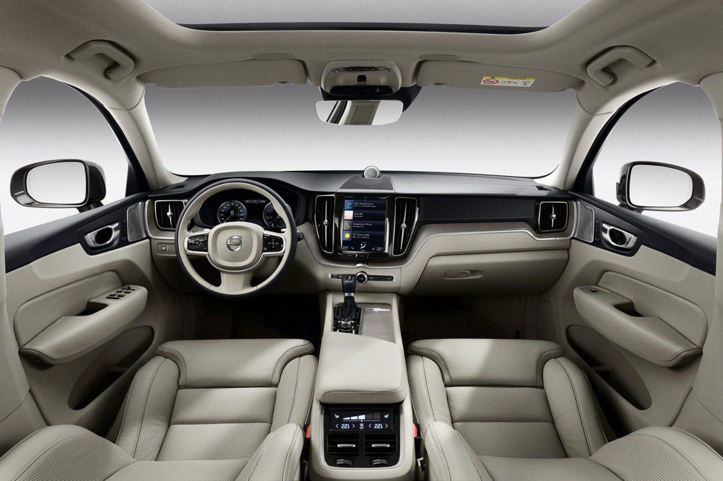 北歐運動休旅The New Volvo XC60。 圖/VOLVO提供
