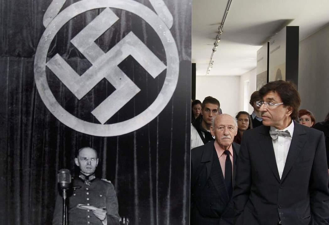 法國、比利時跟荷蘭,對於近代國民身份的認同,亦是建立在反抗納粹的論述上。圖為比利...