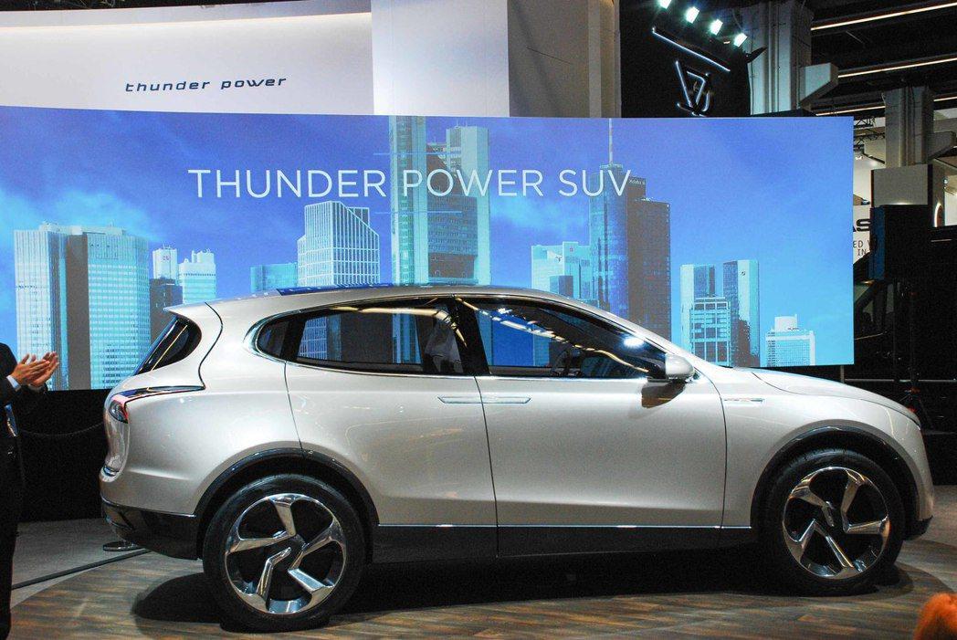 Thunder Power SUV。記者林昱丞/攝影