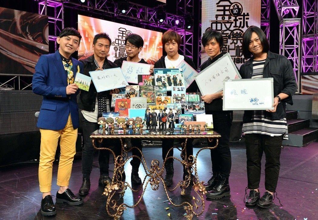 全球中文音樂榜上榜。圖/TVBS提供