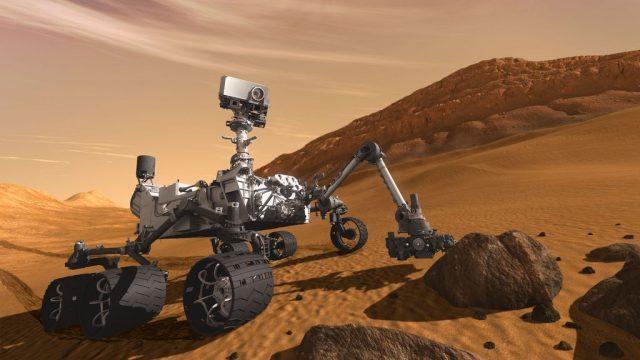 ▲ 火星探測車好奇號。(Source:NASA)