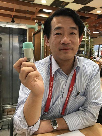2017年全球肺阻塞治療指引出爐,建議中重度患者持續使用複方支氣管擴張劑,以提高...