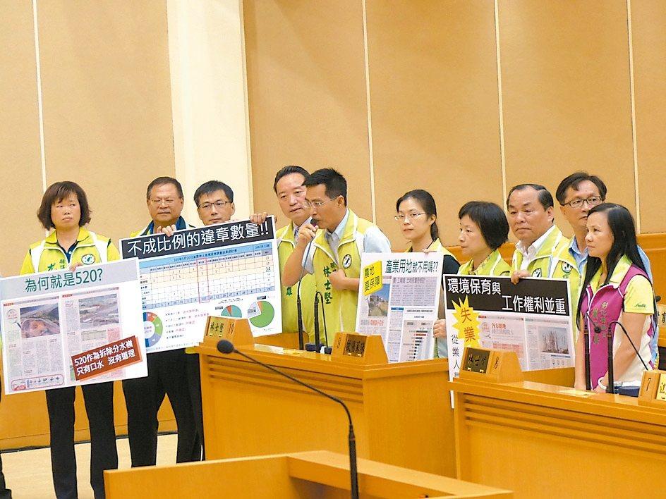 農委會查報彰化縣去年520以後,在農地新生109件違章工廠,將強制拆除,昨天引起...