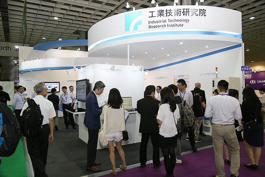 工研院參加「2017國際半導體展(SEMICON Taiwan)」,在南港展覽館...