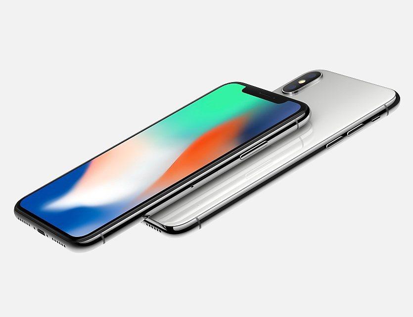 iPhoneX被稱為史上最貴的iPhone。(蘋果圖片)