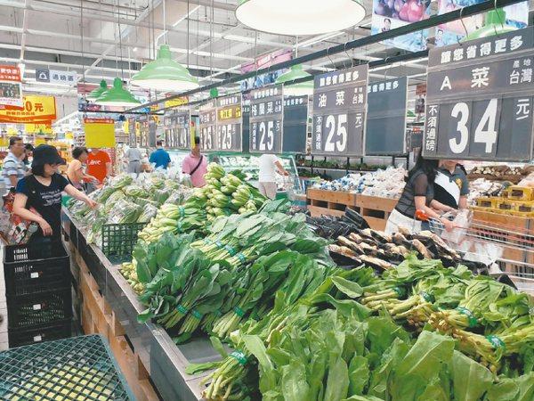大潤發生鮮買氣旺,賣場補貨頻率增1倍。