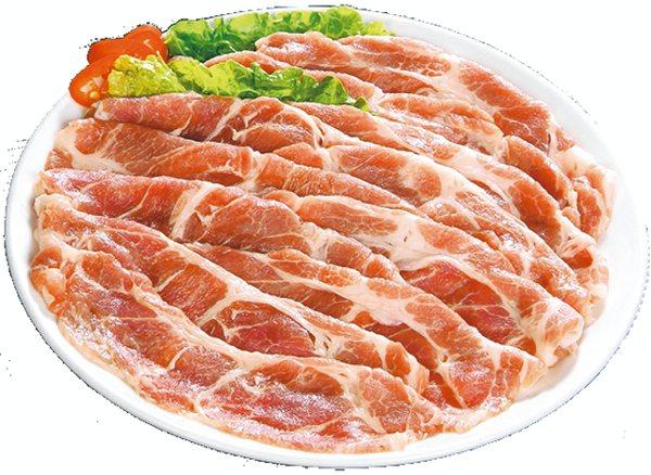 頂好推出限時限量豬梅花火鍋肉片優惠,原價49元,特價40元。