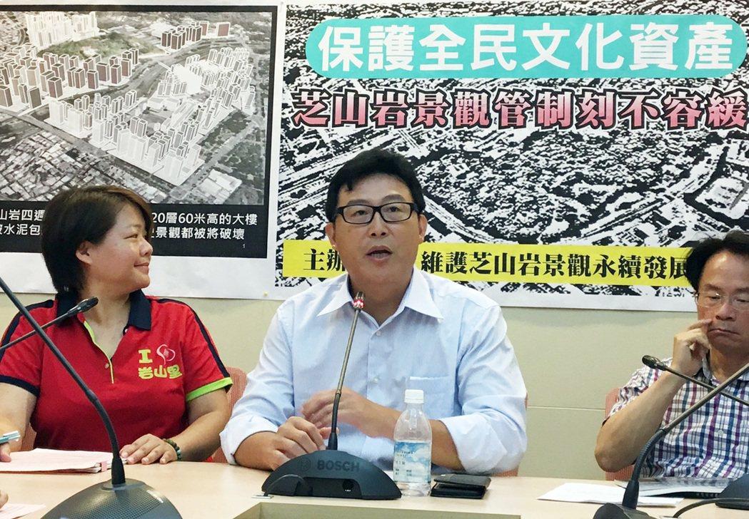 民進黨立委姚文智今天呼籲,已故國防部長俞大維居所應列為紀念建築予以保存。 中央社