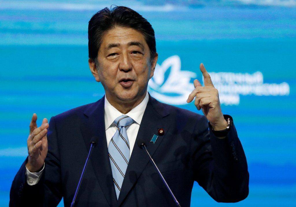 日本首相安倍晉三。路透