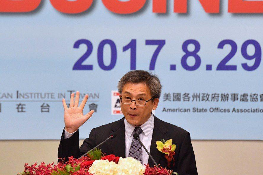 美國在台協會台北辦事處處長梅健華(Kin Moy)。 中央社