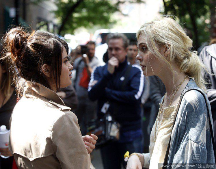席琳娜和艾兒芬妮在伍迪艾倫的新戲中首次合作。圖/達志影像